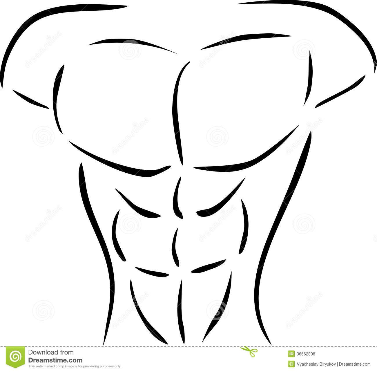 Body Chest Clip Art.