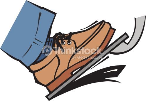Clip Art Foot Pedal.