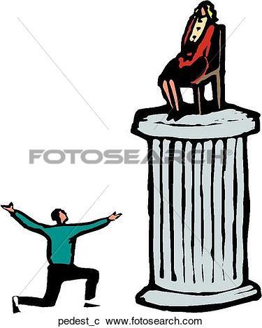 Clipart of Pedestal pedest_c.