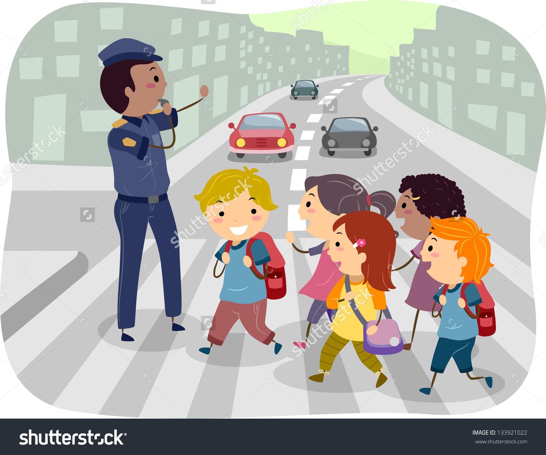 pedestrian passage clipart clipground