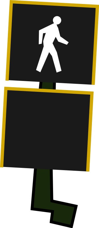 Free Clipart: Crosswalk Signal.