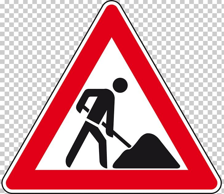 Traffic Sign Roadworks Pedestrian Crossing PNG, Clipart.
