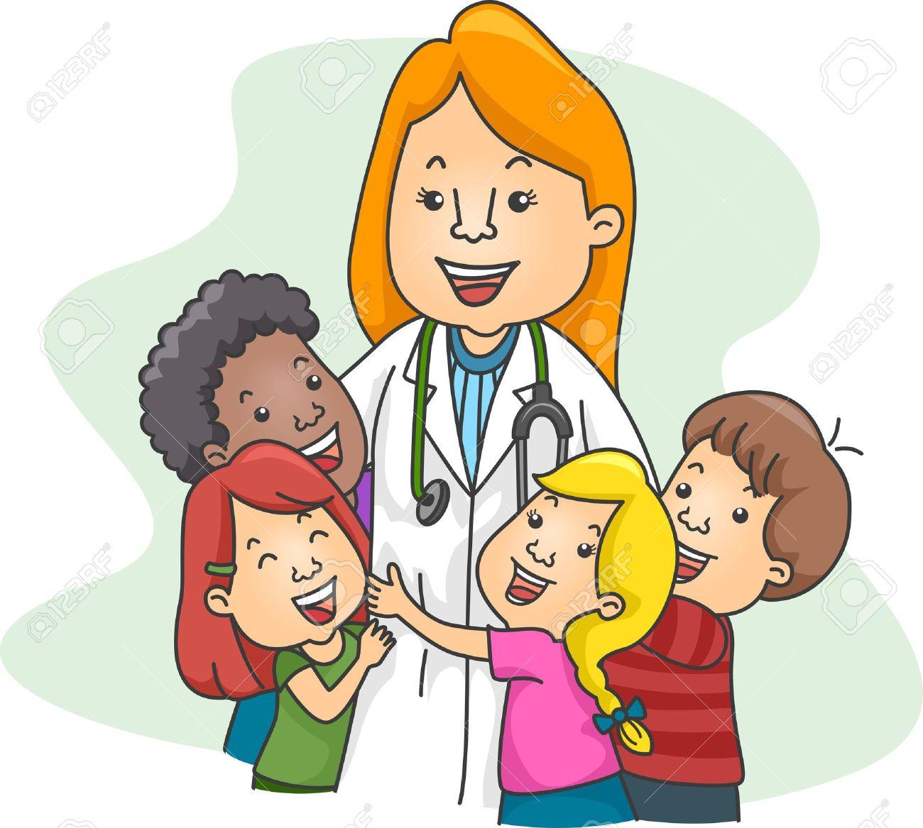 224 Pediatrician free clipart.