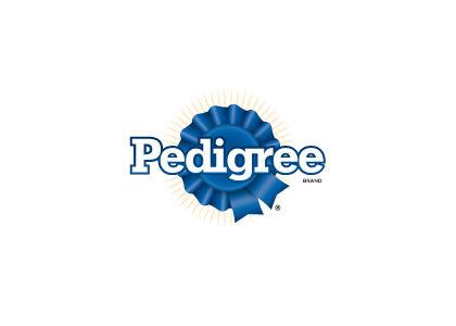 Pedigree dog food Logos.