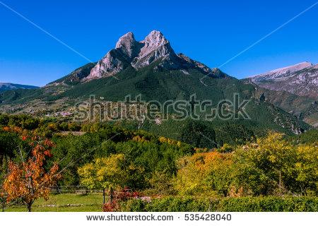 Autumn Forest Spain Stock Photos, Royalty.