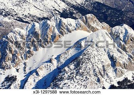Pictures of Pedraforca mountain, Cadi.