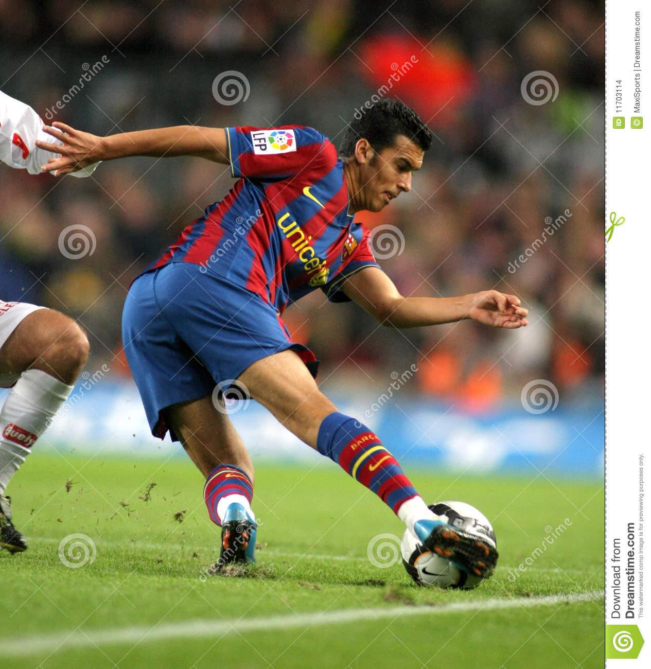 Fc Barcelona Pedro Clipart.