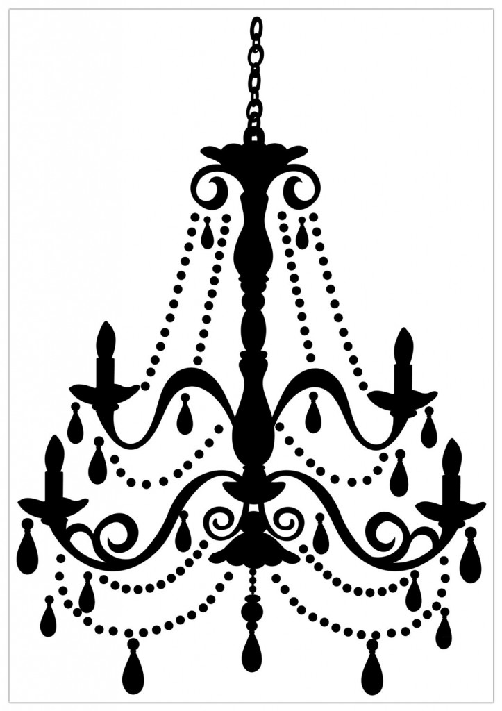 Damask peel and stick clipart.
