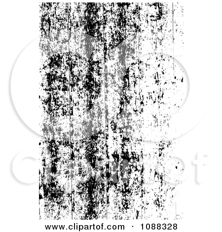 Clipart Black And White Peeling Paint Grunge Overlay.