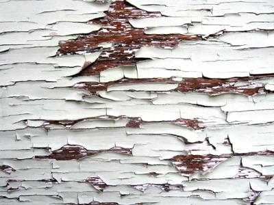 Peeling Paint Texture, vector graphics.