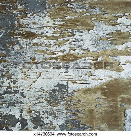 Stock Photo of Peeling Paint x14730694.