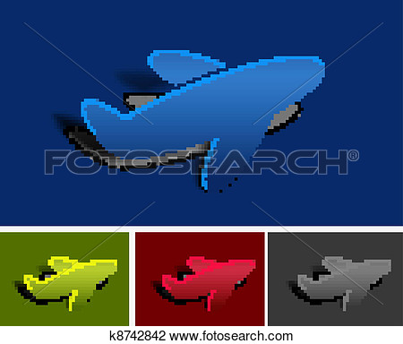 Clipart that peels off.