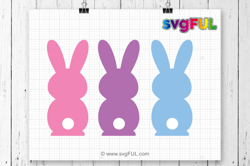 Free SVG, Bunny Clipart, Peep Svg, Easter Peeps, Svg, Dxf.