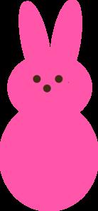Pink Peep Clip Art at Clker.com.
