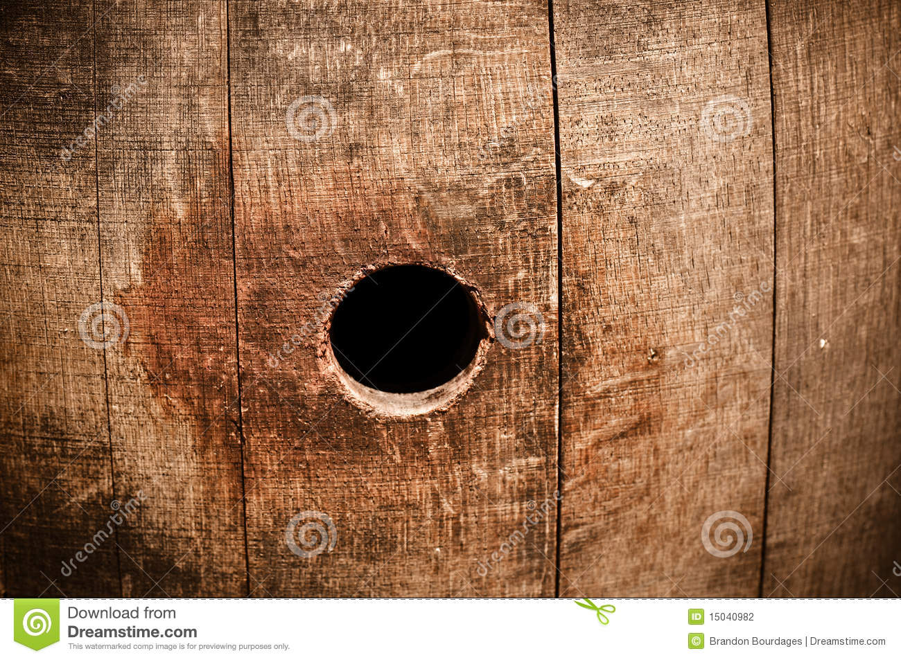 Hole In Barrel Clipart.