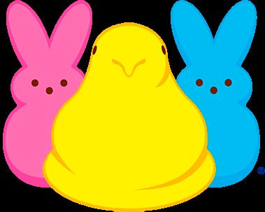 Yellow,Cartoon,Rabbit,Rabbits and Hares,Peeps,Clip art.