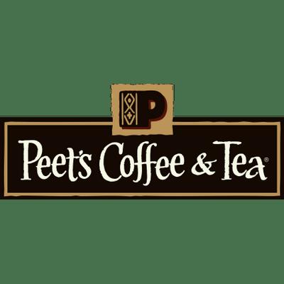 Peet\'s Coffee and Tea Logo transparent PNG.