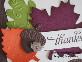 Fall Thank You Clipart.