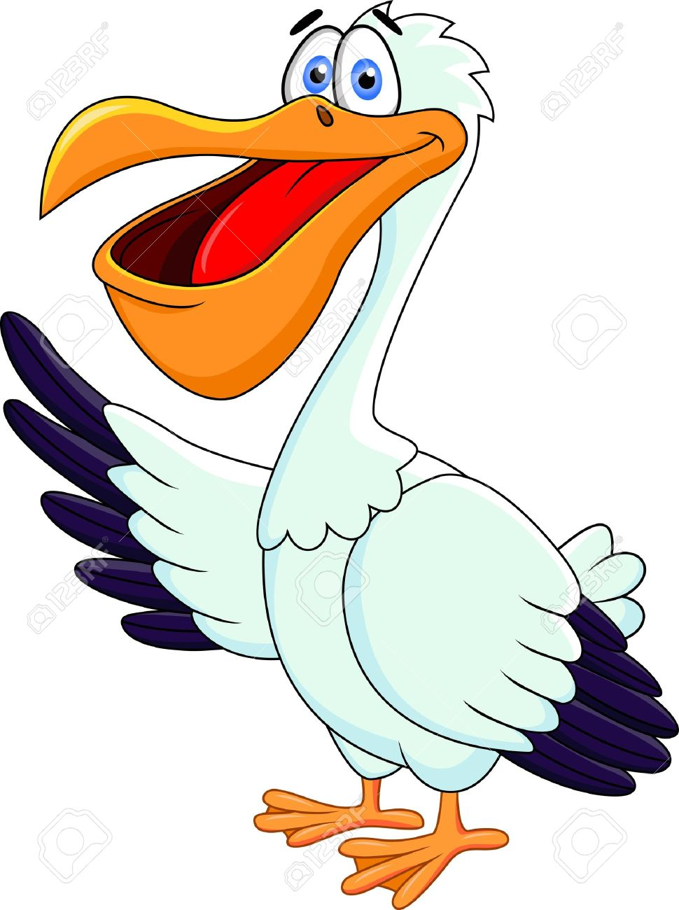 Free clipart pelican.