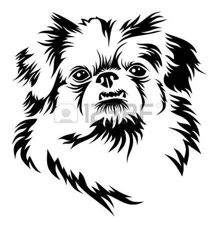 134 Pekingese Cliparts, Stock Vector And Royalty Free Pekingese.