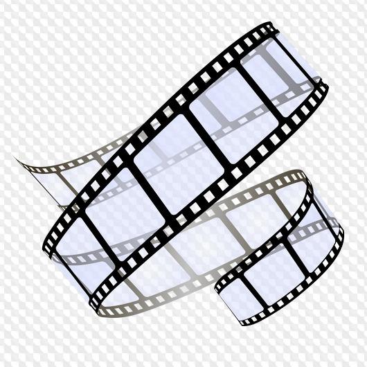 5 PSD, 5 PNG, Film on transparent background.
