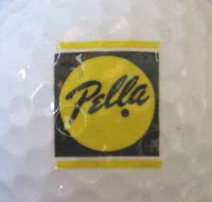 Details about (1) PELLA WINDOWS & DOORS LOGO GOLF BALL.