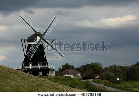 """windmill Germany"""" Lizenzfreie Bilder und Vektorgrafiken kaufen."""