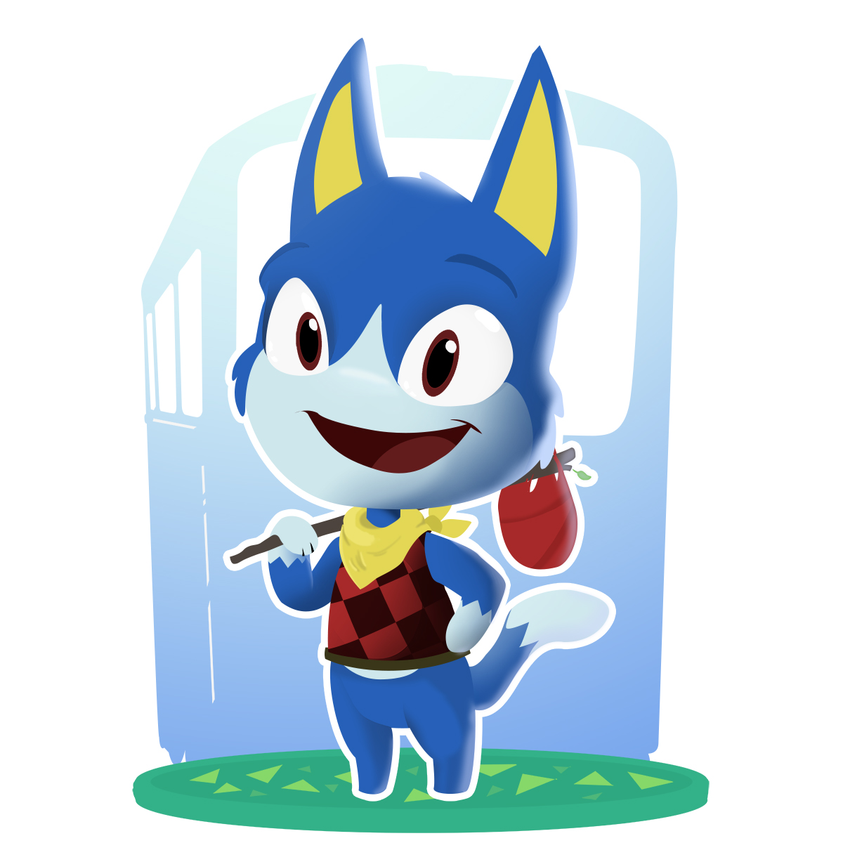 Daily Xing, 31 Animal Crossing Characters in 31 days.