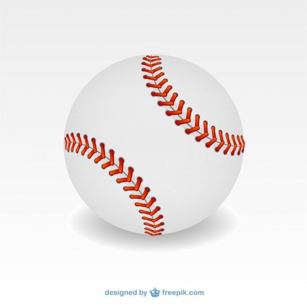 Vector pelota de béisbol.