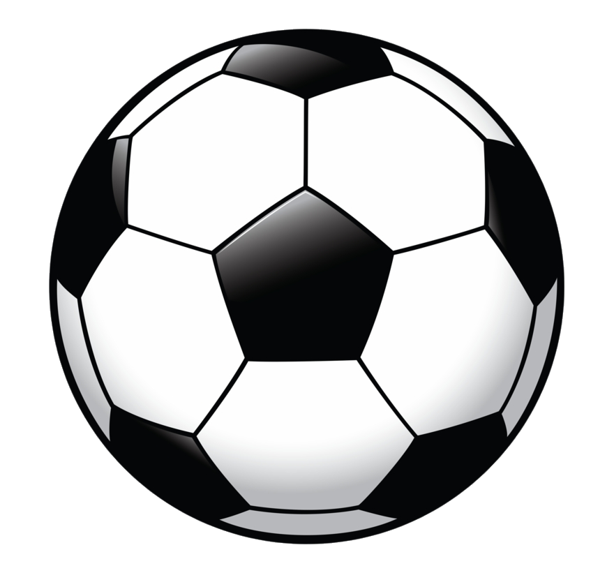 Soccer Clipart Party Pelota De Futbol Plana Transparent Png.