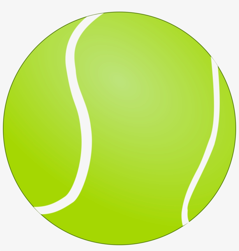 Light Green Tennis Ball.