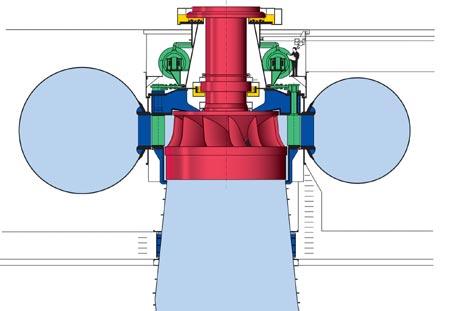 Francis turbine.