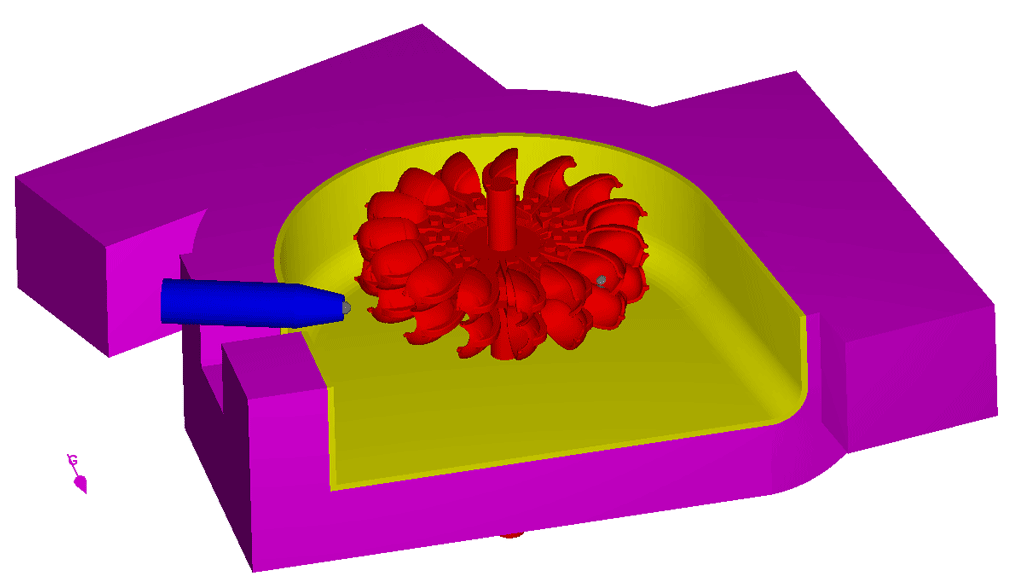 Simulating Pelton Turbines.