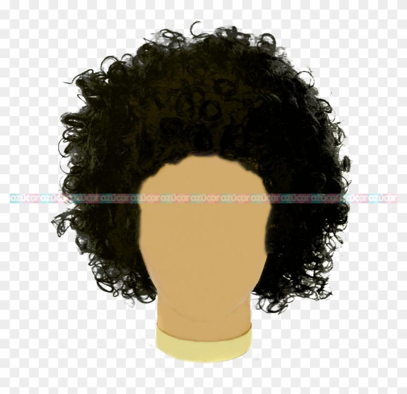Peluca Afro Png, Transparent Png (#532595).