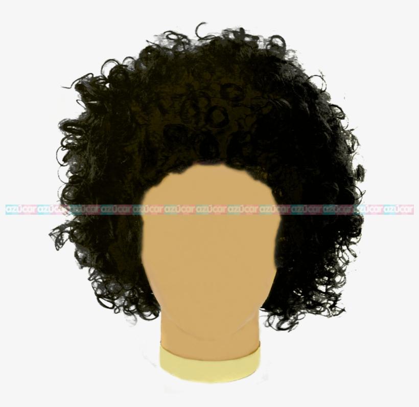 Peluca Afro Png Transparent PNG.