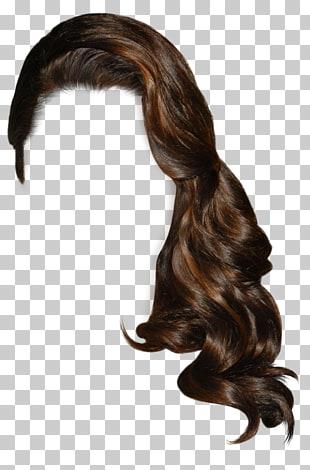 Pelo castaño de mujer, pelo corto de mujer PNG Clipart.