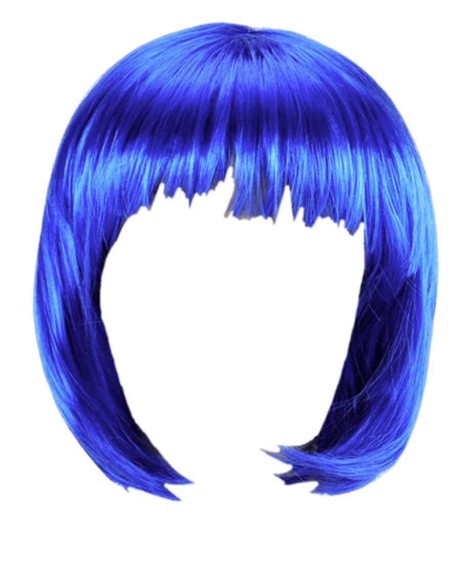 Wig Blue Bob.