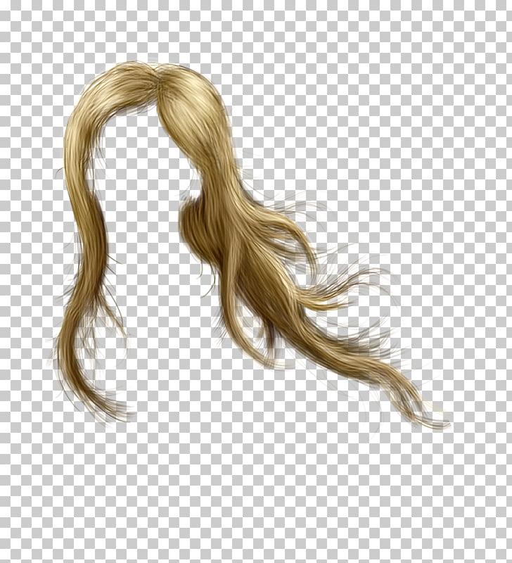 Peluca rubia para colorear cabello, cabello PNG Clipart.