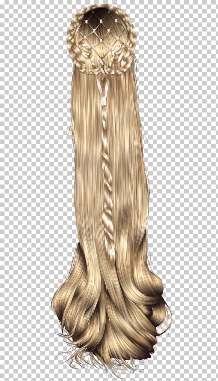 Peinado peluca rubia, peluqueria PNG Clipart.