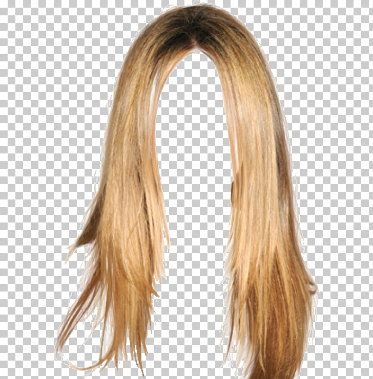 Peluca rubia pelo largo cabello coloración peinado, cabello.
