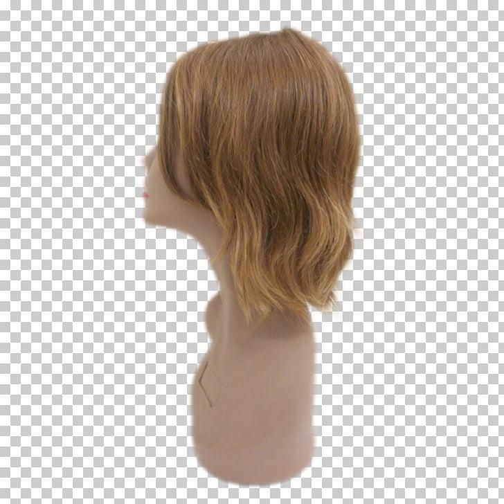 Peluca rubia pelo largo cabello castaño, delicadeza regional.