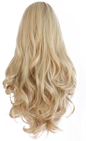 Preciosa peluca rubia.
