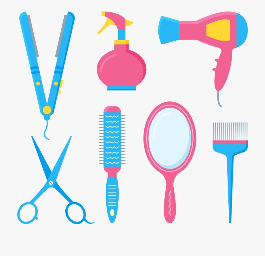Comb Hairdresser Barbershop Hair Dryer Hairbrush.