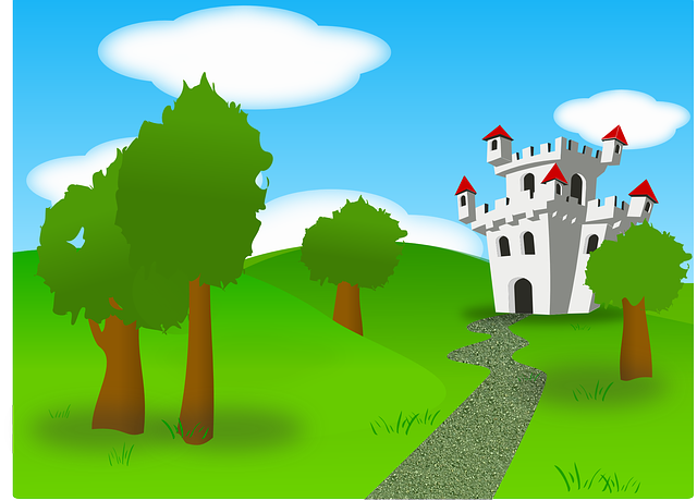 Free vector graphic: Castle, Fort, Fortress, Land.