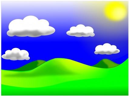 Gambar Kartun Pemandangan
