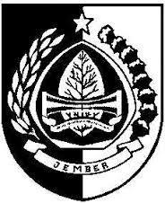 Logo Kabupaten: Logo Pemerintah Kabupaten Jember.