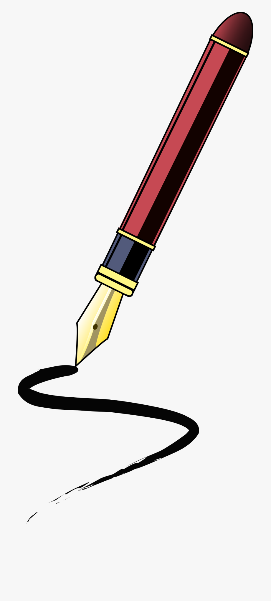 Journalist Clipart Pen.