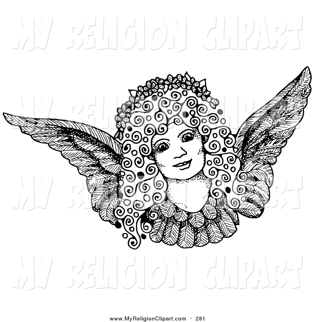 Royalty Free Pen and Ink Drawing Stock Religion Designs.