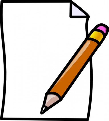 75+ Pen And Paper Clip Art.