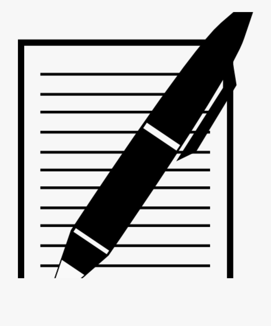Pen And Paper Clipart Paper And Pen Clip Art At Clker.